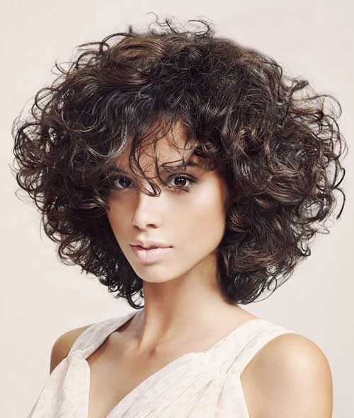 Short Thick Haircuts for Curly Hair-10