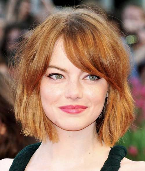 Copper Hair Colors for Short Hair-12