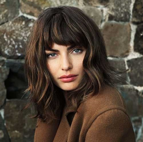Thick Medium Short Haircuts 2019-12