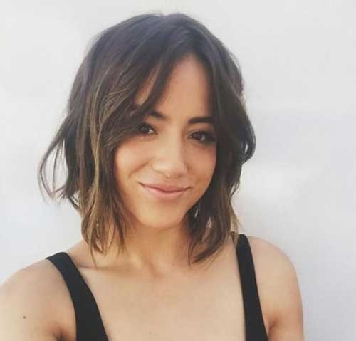 Fine Hairstyles for Short and Wavy Hair-14