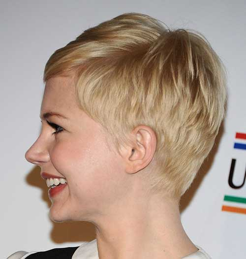 Very Short Hairstyles for Fine Straight Hair-14