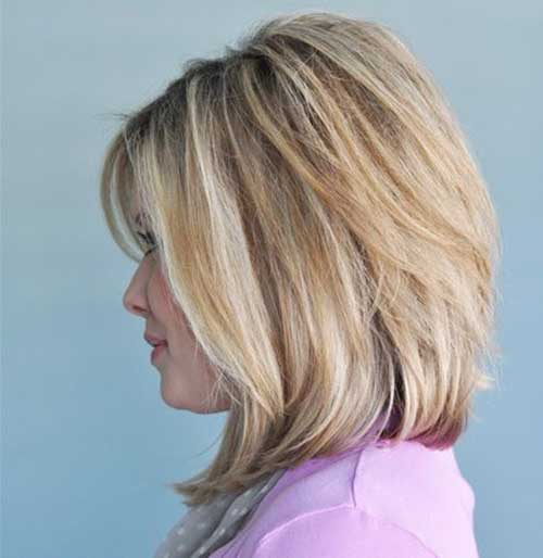 Best Long Bob Haircuts with Layers-16