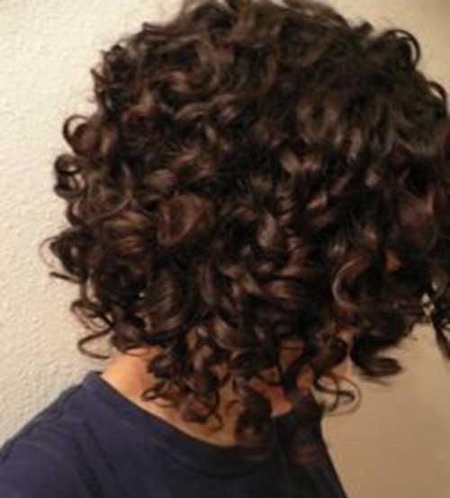 Short Hair Haircuts for Naturally Curly Hair-16