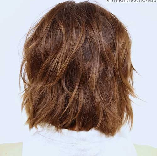 Back View Hairstyles for Short and Wavy Hair-18
