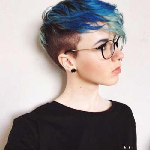 Trendy Hair Colors for Short Hair-18