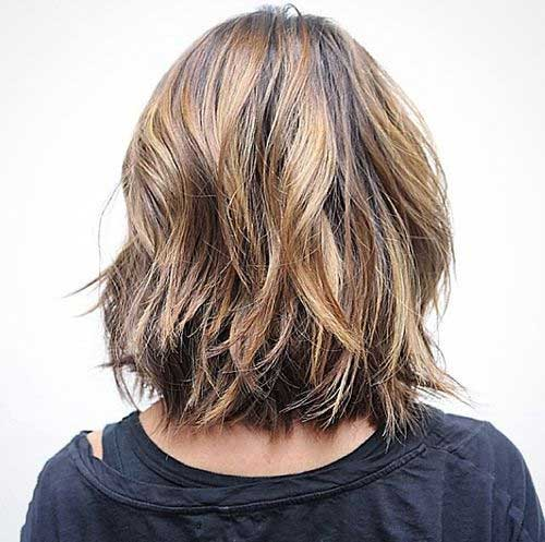 Back View Medium Short Haircuts 2019-19
