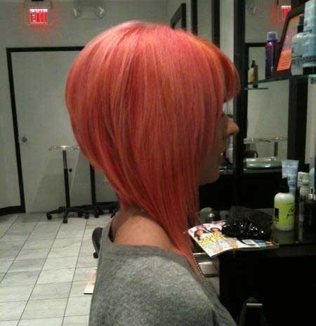 Trendy Pink Hair Colors for Short Hair-19