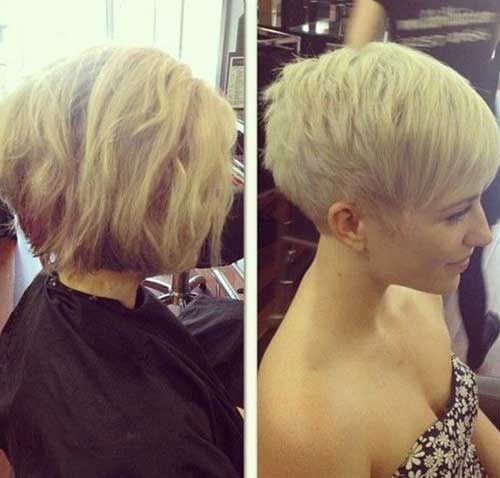 Blonde Hair Colors for Short Hair-20