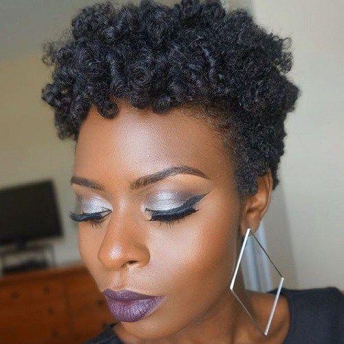 Super Short Natural Hairstyles-6