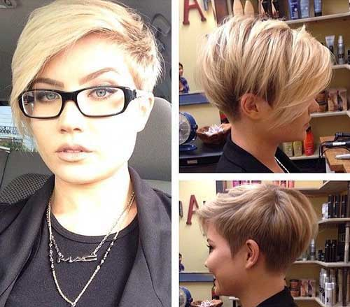 Trendy Highlighted Hair Colors for Short Hair-6