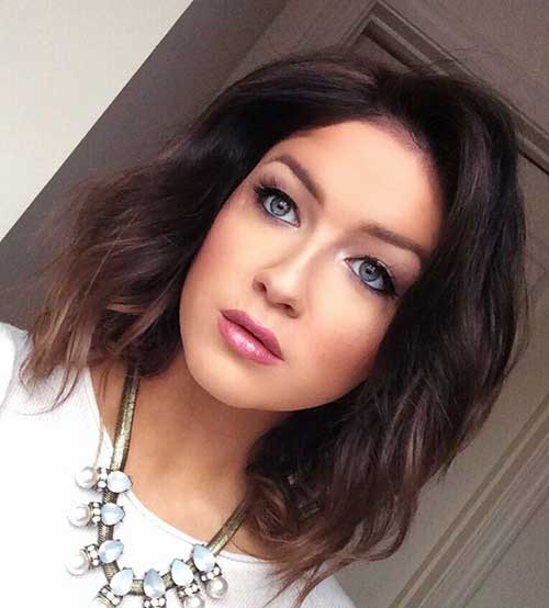Choppy Hairstyles for Short and Wavy Hair-7
