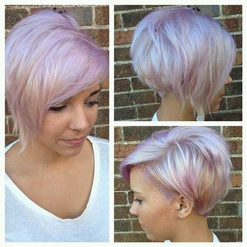 Blonde Hair Colors for Short Hair-8