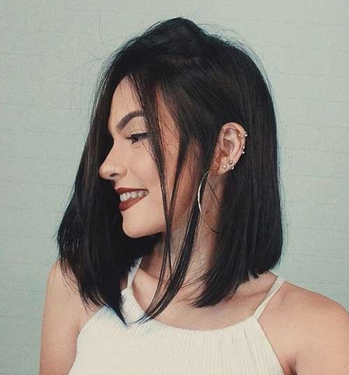 Best Long Inverted Bob Haircuts-8