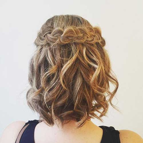 Chic Looks With Cute Braided Hairstyles For Short Hair