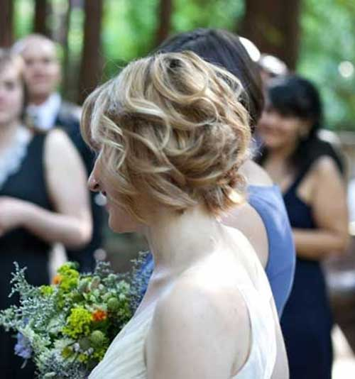 Bridal Hairstyles for Short Hair Updos
