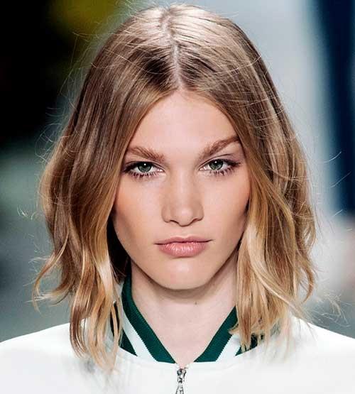 Medium Short Haircuts 2019