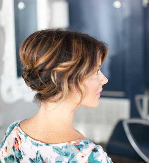 Hair Highlights for Cute Short Haircut-10