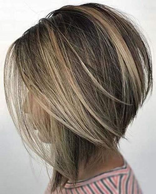 Blonde Balayage Inverted Bob Haircuts-10