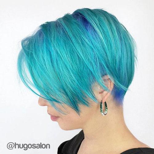 Long Pixie Cut Styles Light Blue-10
