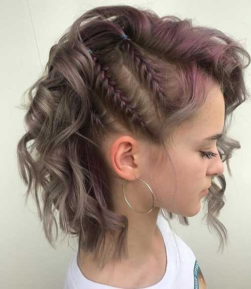 Three Easy Braids for Short Hair-10