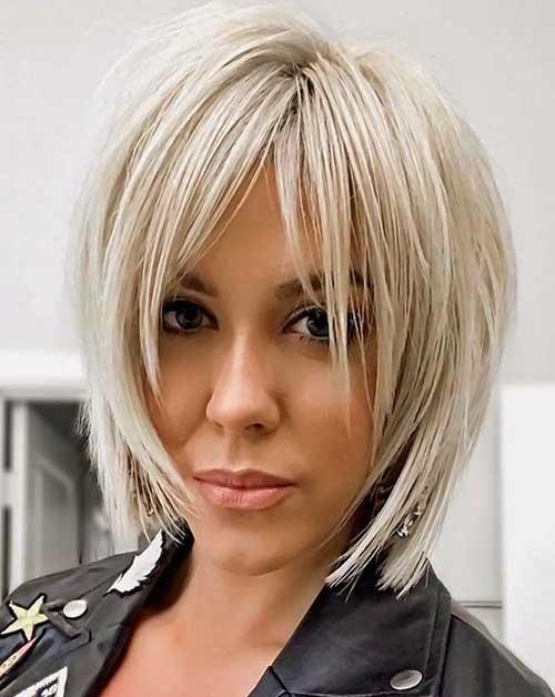 Short Layered Haircuts Fine Blonde Hair-10