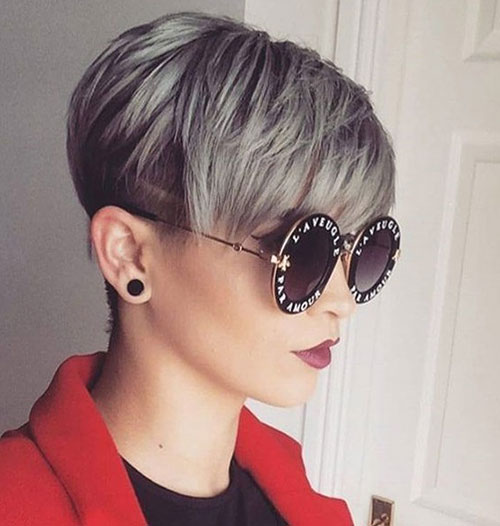 Long Pixie Cut Thick Bangs Styles-11