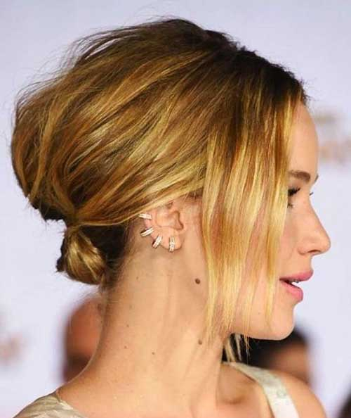 Easy Hair Up for Short Hair-11