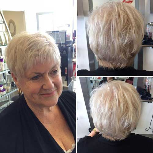 Short Layered Haircuts for Ladies Over 60-12