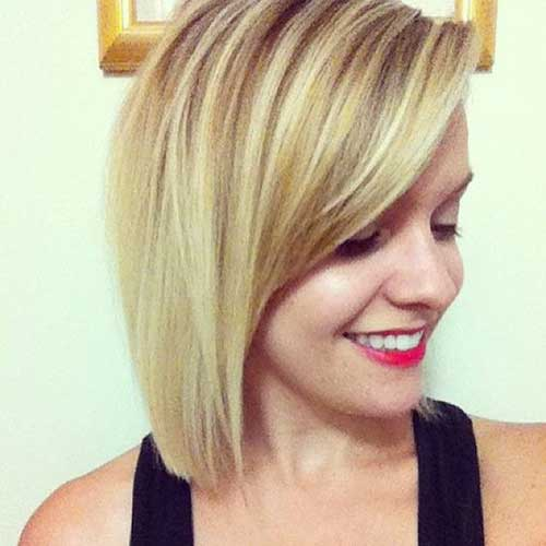 Short Bob Haircuts for Thin Hair-12