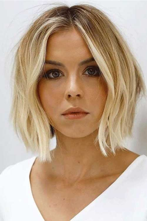 Choppy Short Haircuts for Thin Hair-13