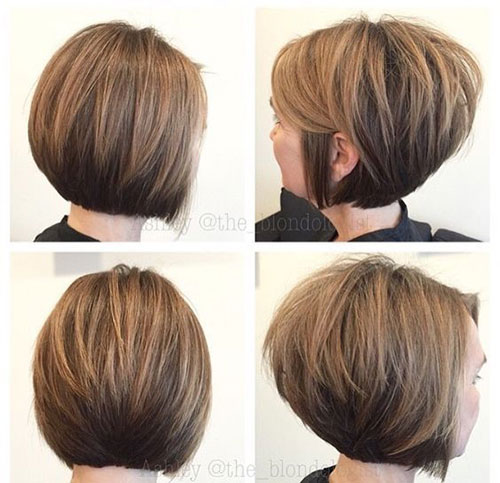 Short Stacked Thick Hairstyles-13