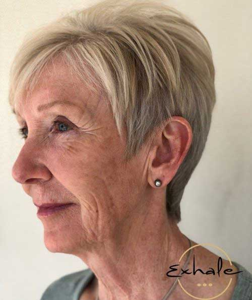 Easy Pixie Short Haircuts for Ladies Over 60-14