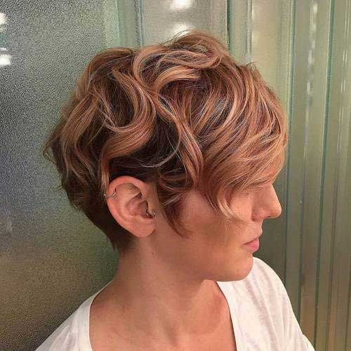 Hair Highlights for Short Haircut-14