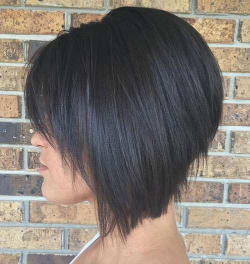Inverted Bob Haircuts with Bangs-14