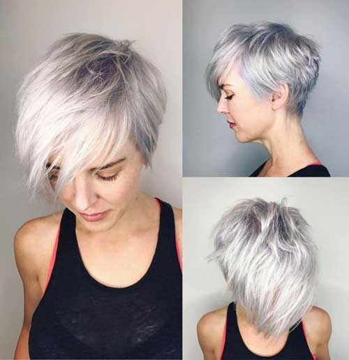 Long Pixie Cut Styles for Girls-14