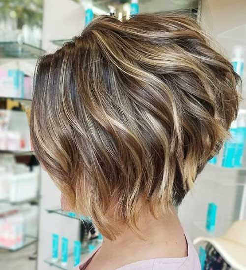 Hair Highlights for Short Haircut-15