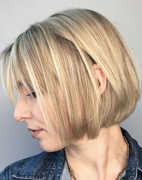 Fine Bob Hair Cut-16