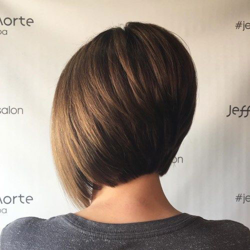 Modern Short Stacked Hairstyles-17