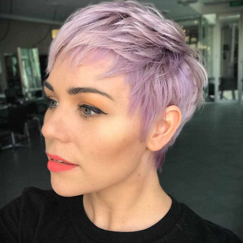 Choppy Short Haircuts for Thin Hair-17