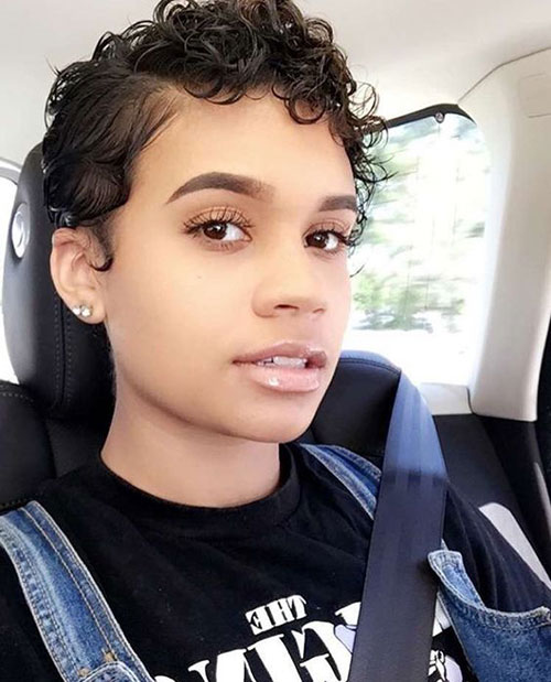 Short Natural Curly Hairstyles-18