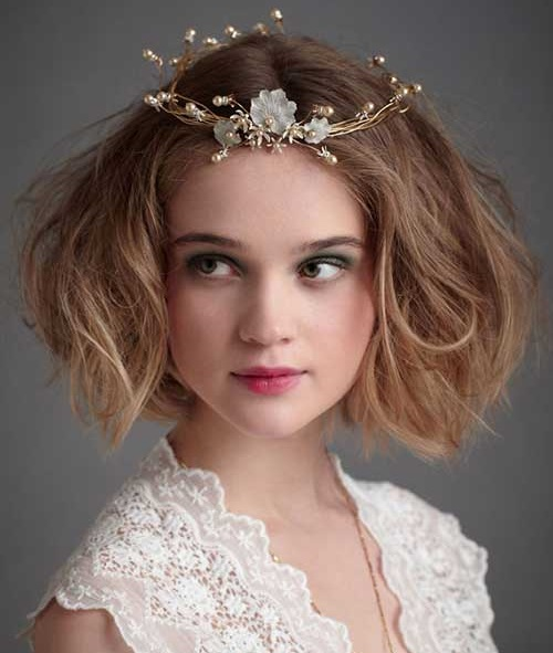 Wedding Hairstyles Accessory for Short Hair Updos-18