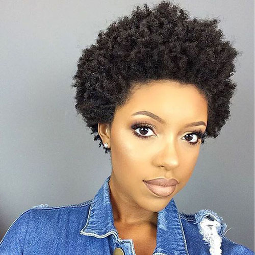 Short Natural Curly Hairstyles-19