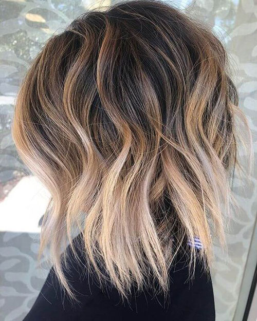 Medium Short Beach Waves Hairstyles-20