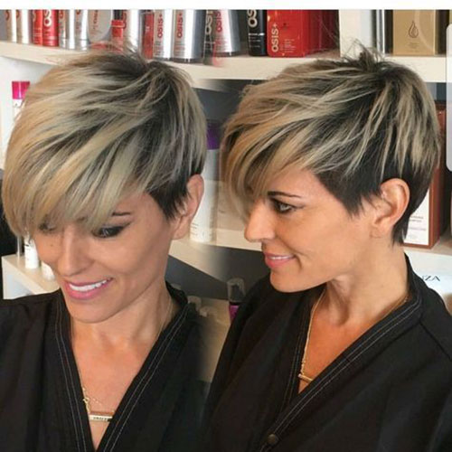 24.Blonde Pixie Cut Styles-24