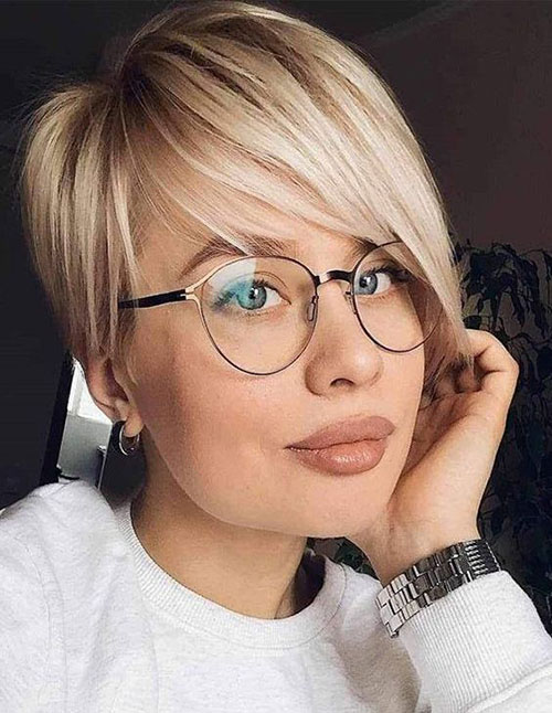 Short Asymmetrical Haircuts for Thin Hair-25