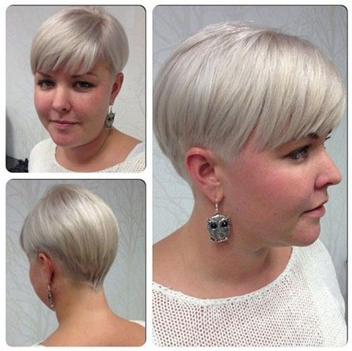 Short Haircuts for Thin White Blonde Hair-26