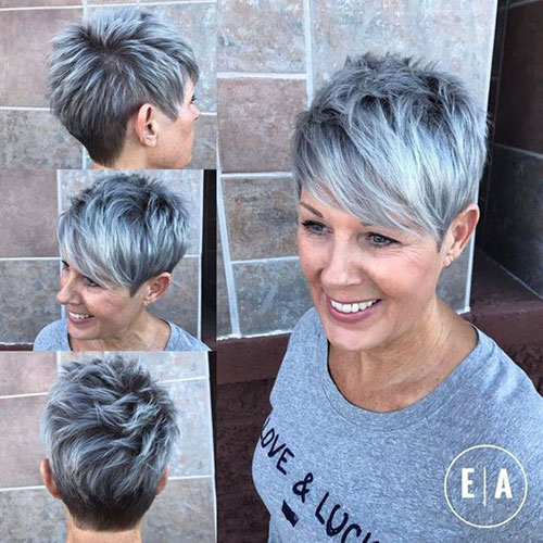 Cool Short Haircuts for Thin Hair-28