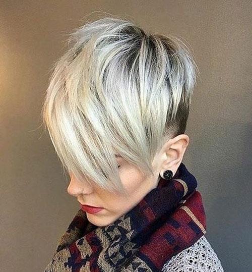 Balayage Blond Pixie Cut Styles-32