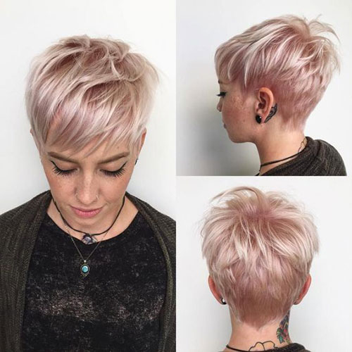 Pixie Cut Styles for Fine Hair-41