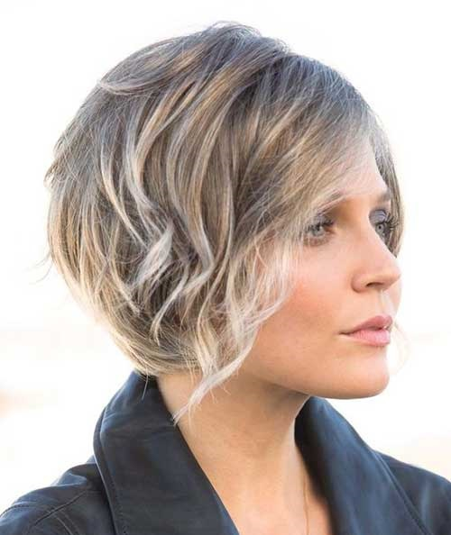 Blonde Hair Highlights for Short Haircut-6